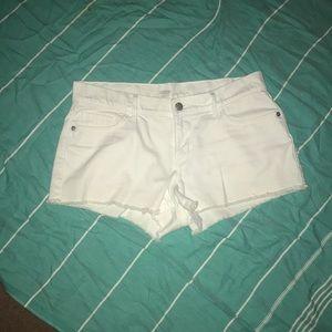 White shorts-4